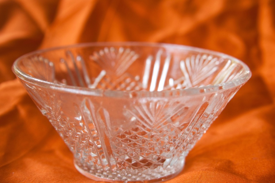 bowl, glass, object, glassware