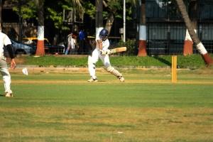 Sport de cricket, jeu, sport, champ, herbe, gens