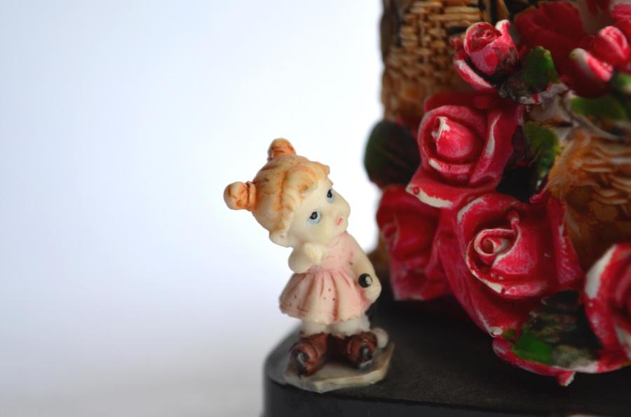 toy, statue, ros, decoration, plastic