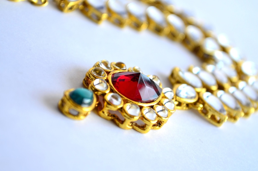 necklace, jewelry, gold, diamond