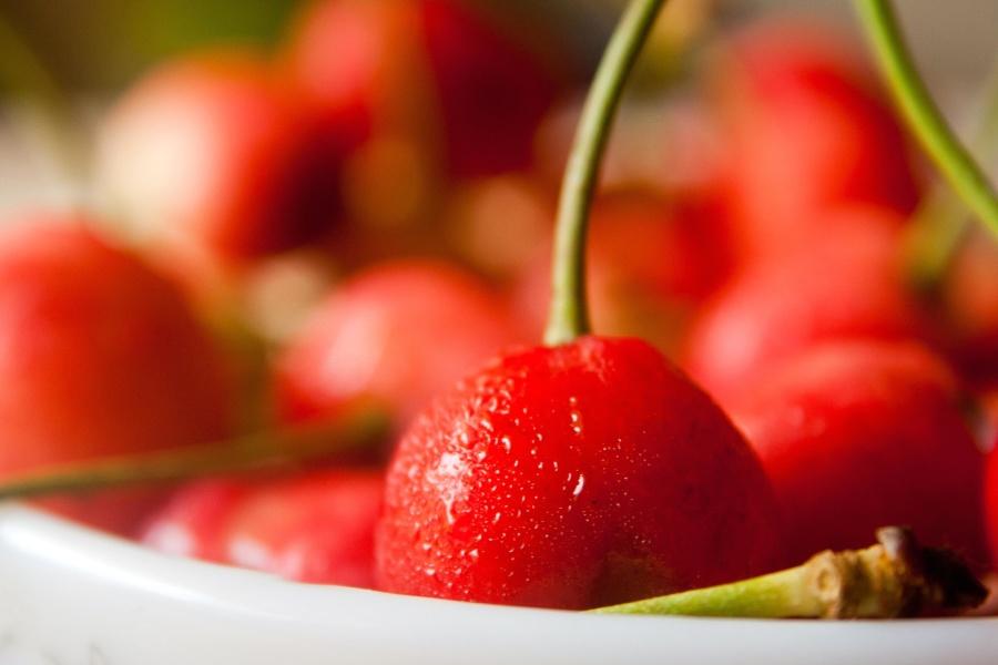 cherry, red, fruit, cherry, sweet, food, dessert