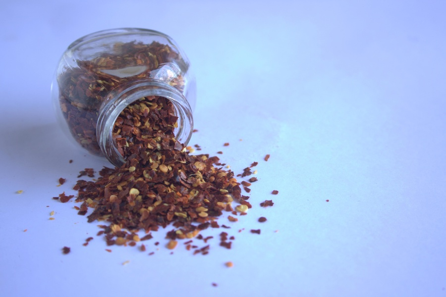 spice, glass, jar