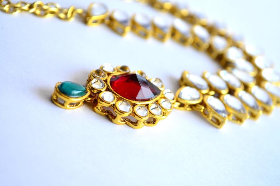 gold, jewelry, briliant, jewel, necklace, luxury