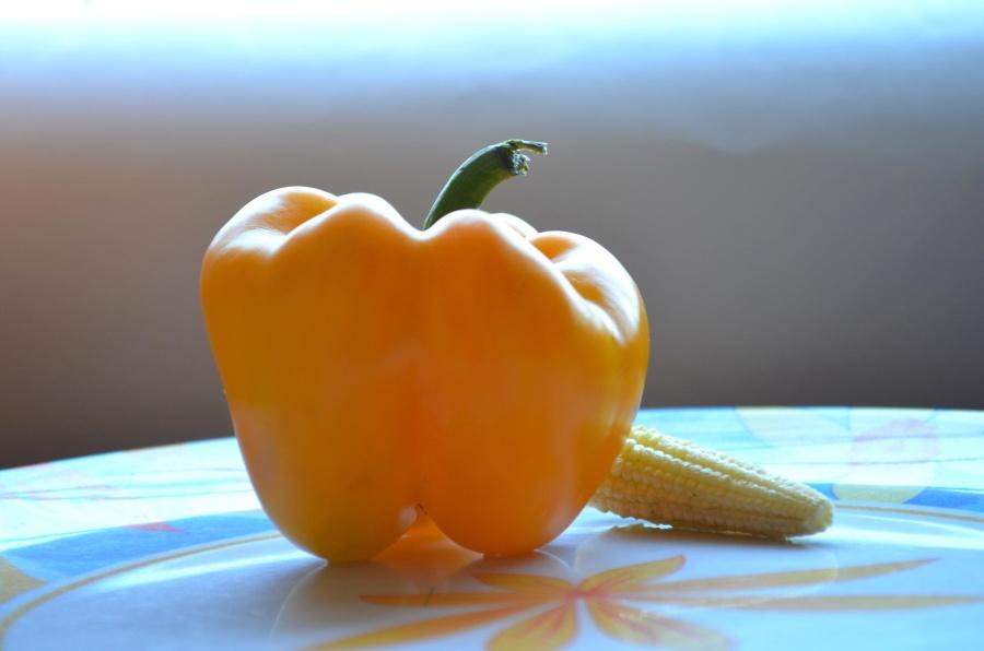 bell pepper, diet, corn, food