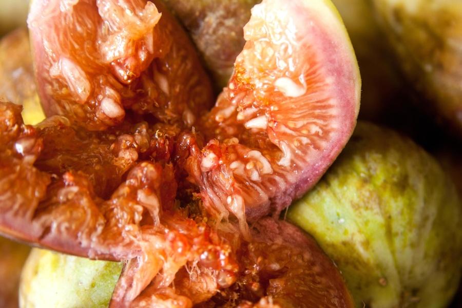 fig, fruit, food, dessert