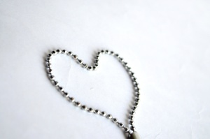 heart, chain, jewelry