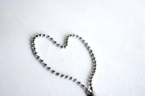 srdce, reťaz, šperky