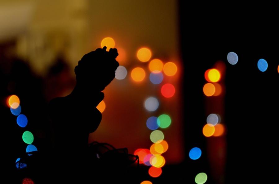 silhouette, light, angel, dark, design