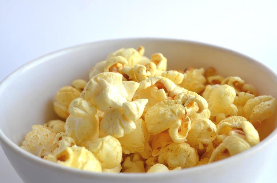 popcorn, bowl, food, meal