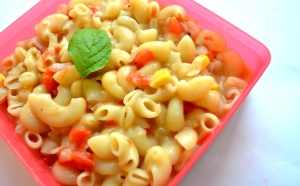 macaroni, appetizer, pasta, salad, food, vegetable