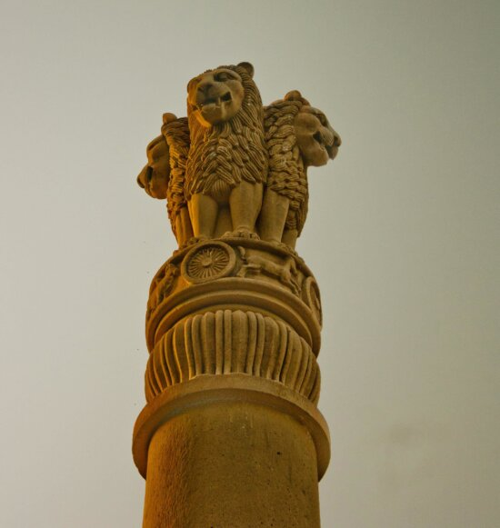 national monument, India, statue