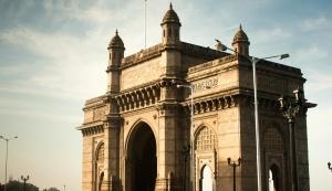 Indien, Architektur, Außen, Gebäude, Kuppel, Stadt, Tempel