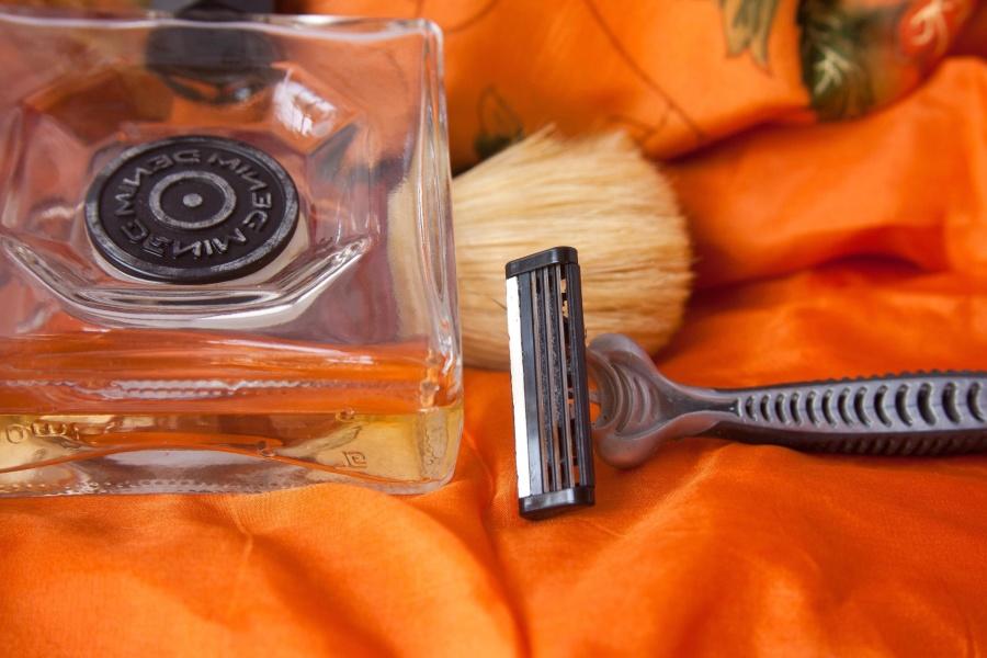 shaving, razor, object, brush, hand tool