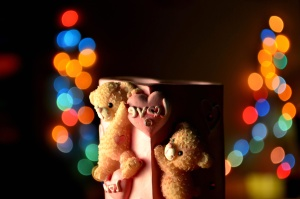 love, teddy bear, toy, mug
