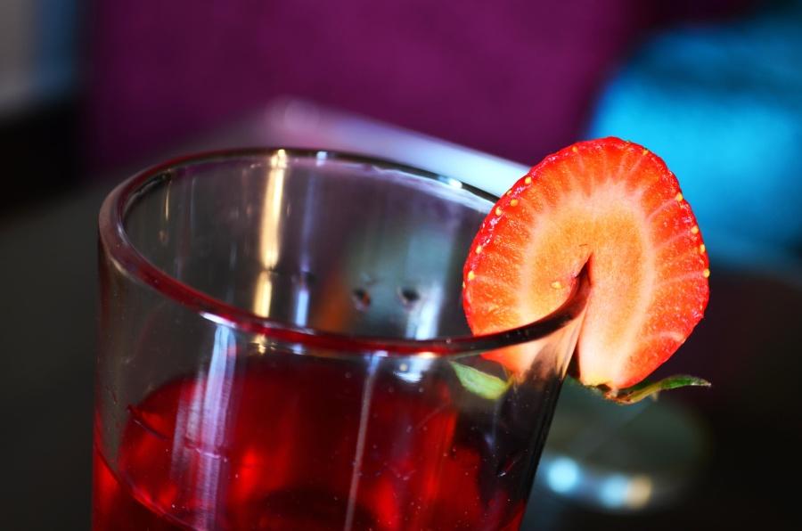 Erdbeere, trinken, Fruchtsaft