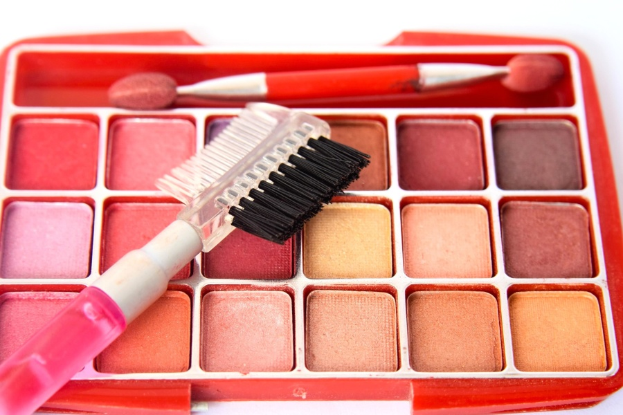 brush, colorful, object, tool, makeup