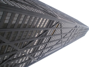 Turm, Gebäude, Zentrum, Innenstadt, schwarz