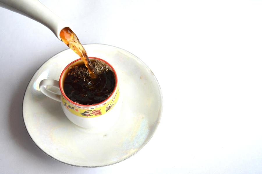 tea, mug, saucer, drink