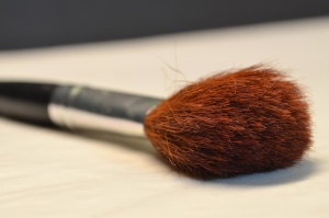 makeup, brush, brown, tool, hand tool