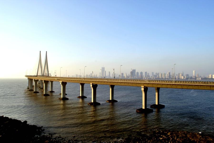 bridge, sea, pier, architecture