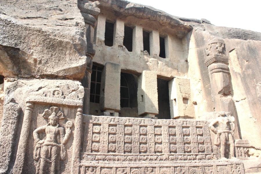 entrance, cave, antique, old, ancient, architecture, stone, monument
