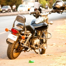 motorbike, travel, vehicle, road, motorcycle