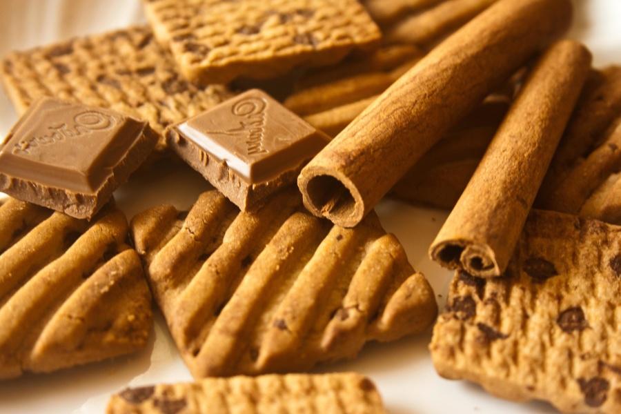 chocolate, cinnamon, bark, spice, brown
