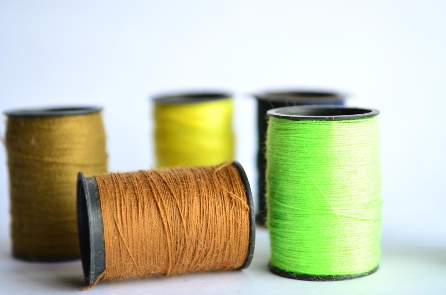 sewing thread, sewing kit, object