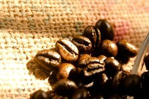 кафе на зърна, семена, Браун, диета, текстил