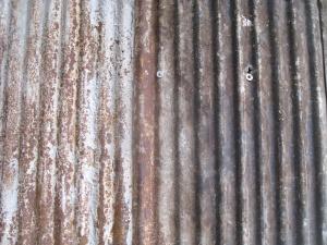 Oxidado, metal, textura, hierro, viejo