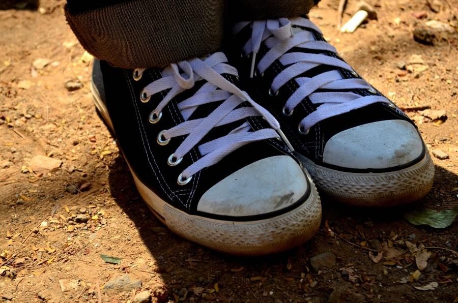 shoelace, canvas, shoe, sneakers, footwear, textil