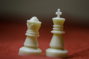 white, king, queen, object, plastic, chess