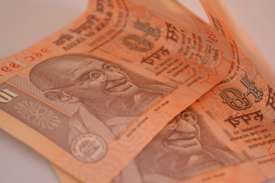 India, money, paper, currency