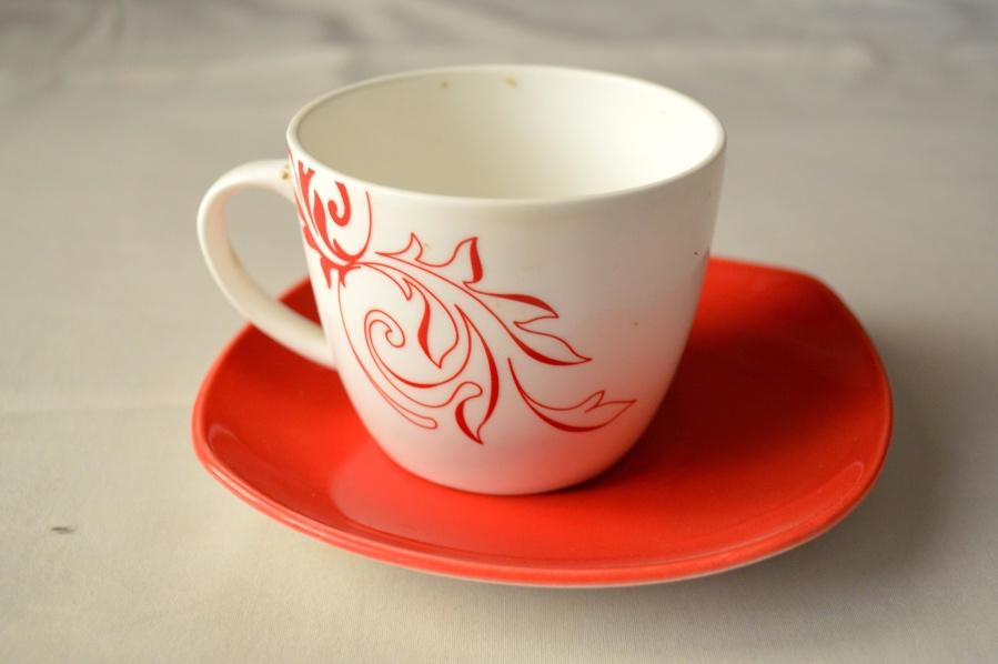 cup, tableware, mug, houseware, ceramics, red