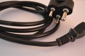 power cord, computer cable
