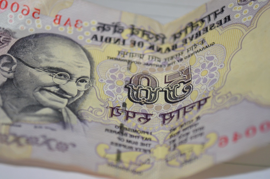 India, money, cash