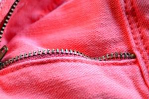 Rose, jeans, tissu, textil, mode