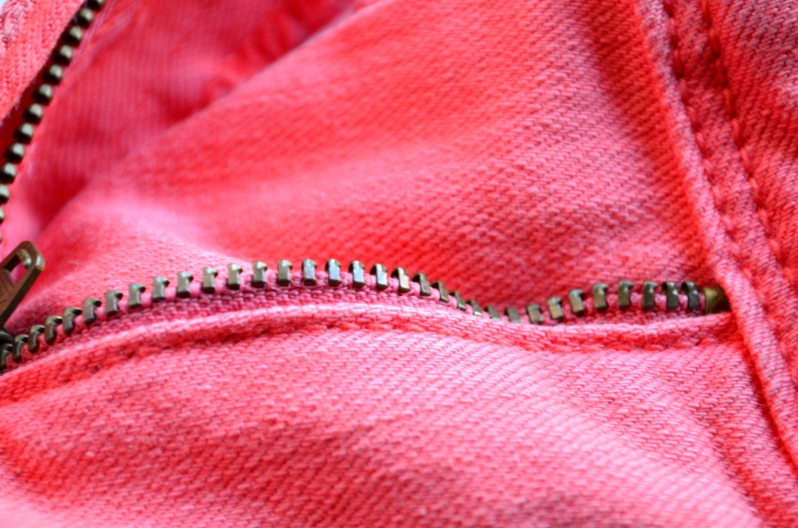 pink, jeans, cloth, textil, fashion