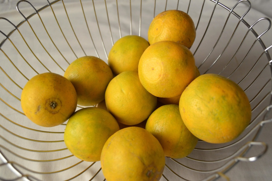 basket, citrus, lemon, fruit, food, vitamin, yellow, sweet, diet