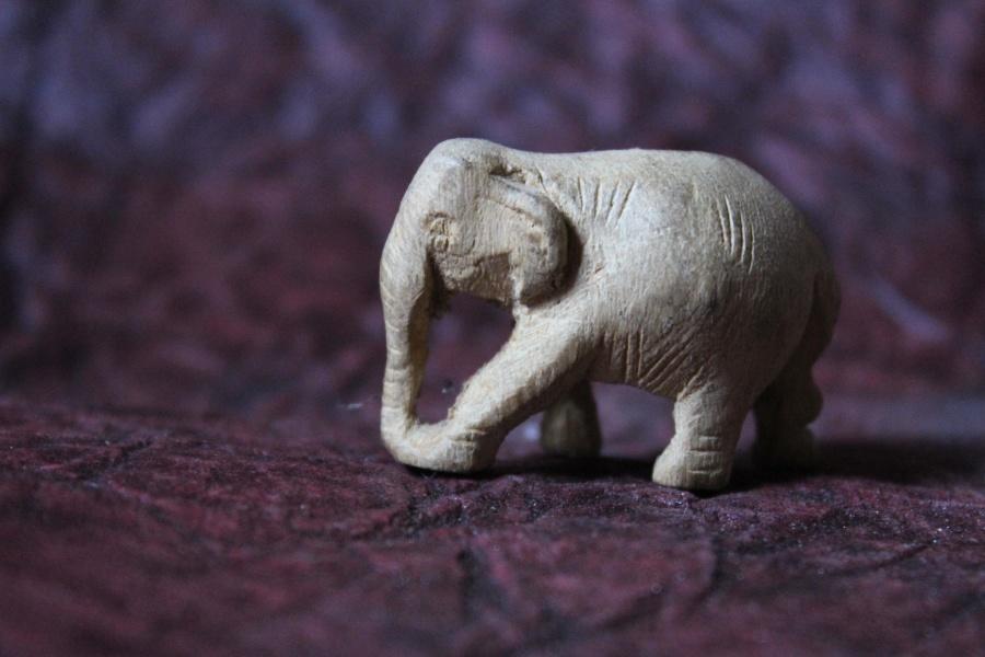 камък, слон, изкуство, скулптура, статуя