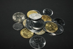 finance, money, metal coins, metal, economy, cash