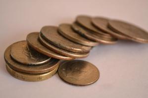 μεταλλικό κέρμα, χρήμα, οικονομία, χρήμα, χαλκός, μπρούντζος