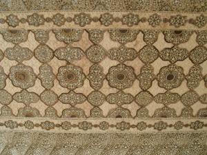 Mármol, textura, India, azulejo, patrón, arabesco, decoración