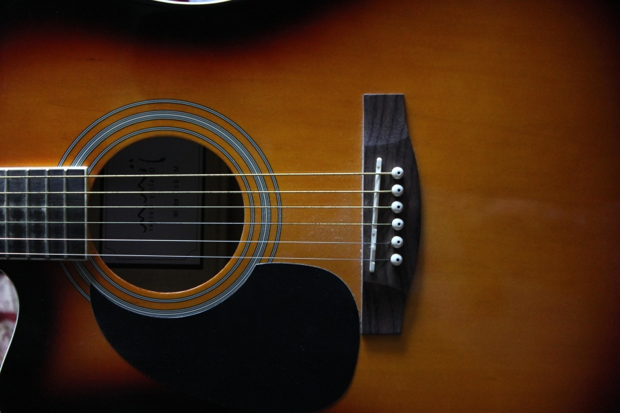 music, guitar, wire, music intrument, acoustic guitar