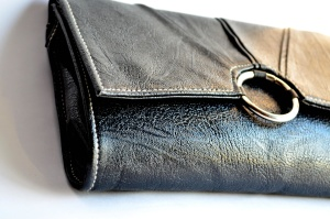 purse, leather, buckle, fastener, old, leather, fashion