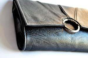 Дамска чанта, кожа, ключалката, закопчалка, стар, кожа, мода