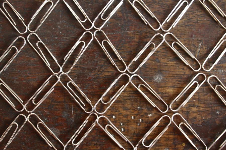 Design, métal, acier, décoration, motif