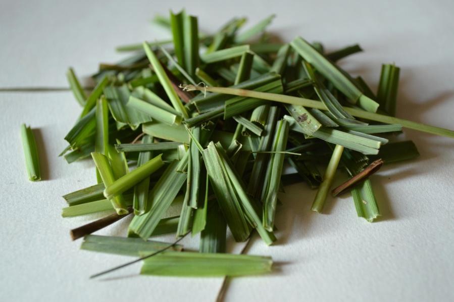 lemongrass, leaf, green, spice