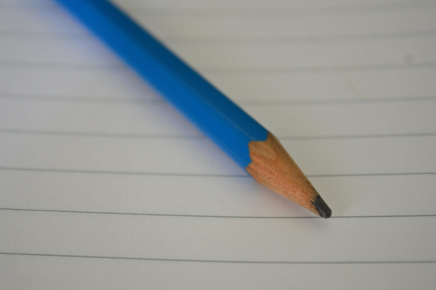 paper, pencil, school, blue, education, object