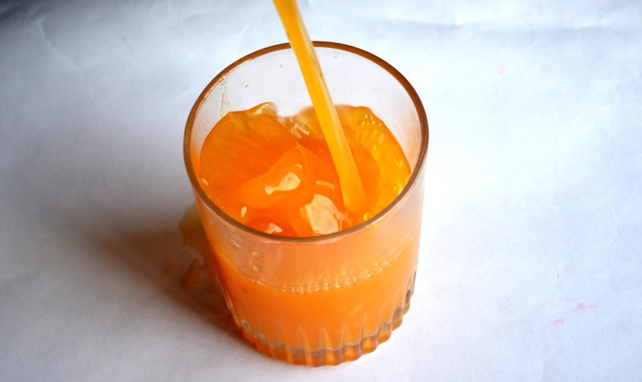 orange juice, glass, juice, beverage, drink, glass, cocktail, food, sweet